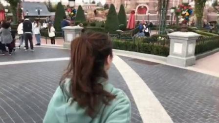 迪士尼之旅于老板赐我的视频、下次带上豆豆吧