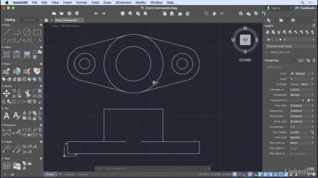 AutoCAD for Mac 2018 教程视频