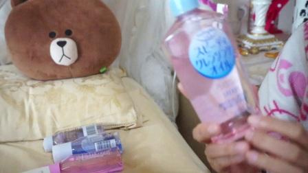 【臭猪珊】九款卸妆产品使用感受分享||卸妆油、卸妆水、卸妆膏、卸妆巾