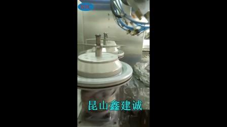 九轴喷漆机-汽车刹车盘喷涂机-自动喷漆设备厂家-鑫建诚自动化