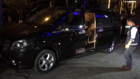 轻松商务 新奔驰威霆改装电动侧滑中门效果演示 TPSUV分享4008858040