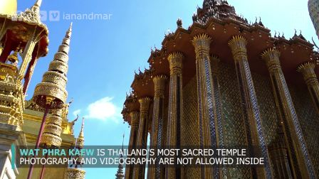 THE GRAND PALACE IN BANGKOK THAILAND 曼谷泰国