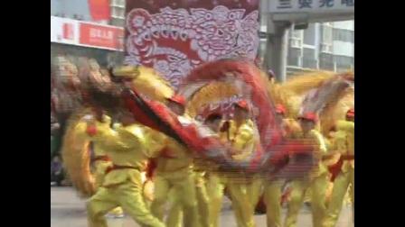 荆州元宵节龙狮舞