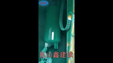 上下往复喷漆机-气罐表面喷涂机-自动喷漆设备厂家-鑫建诚自动化