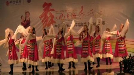 《2014年表演的舞蹈》武汉亚菲民舞班2014年参加比赛的节目。