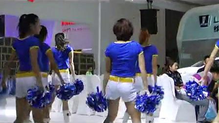 东风裕隆展台啦啦队表演