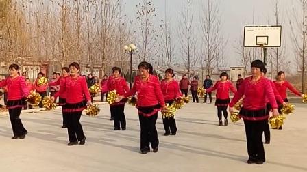 韩庄管区美美哒广场舞-意乱情迷