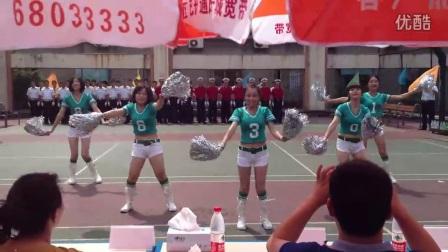 公司羽毛球啦啦队舞蹈