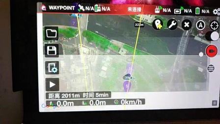 上海陆家嘴三件套航拍延时 litchi航线设计