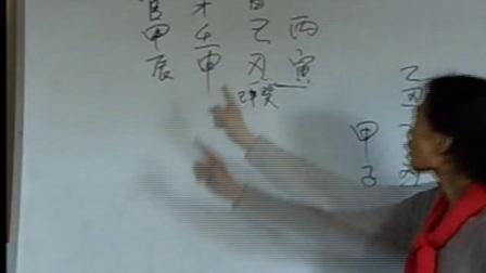 杨请娟盲派八字命理【深圳班】授徒第15集