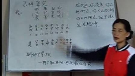杨请娟盲派八字命理【深圳班】授徒第18集