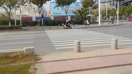 体验南京河西有轨电车(23)