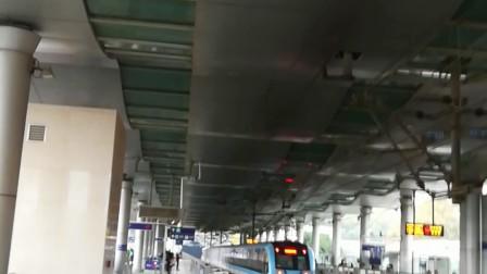 南京地铁一号线(043044)出安德门站,(067068)进安德门站。