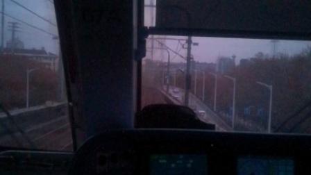 南京地铁一号线(067068)安德门至中华门区间。