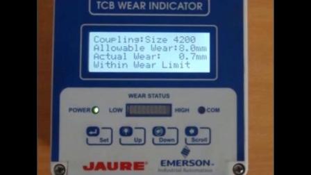 Jaure TCB滚子联轴器磨损监测仪