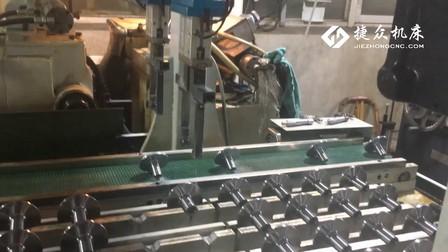 上下料运机器人,无心磨床加工脱水轴套