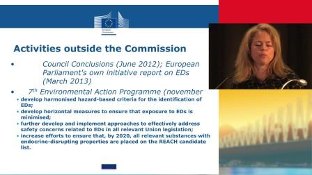 Endocrine disruptors - EU strategy