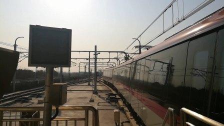 南京地铁s3号线(017018)高家冲站折返。