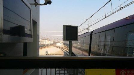 南京地铁s3号线(015016)出高家冲站。