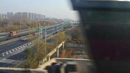 南京地铁s3号线(017018)刘村至天保站。