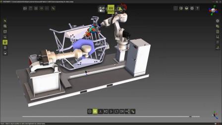 川崎机器人自动适配焊接