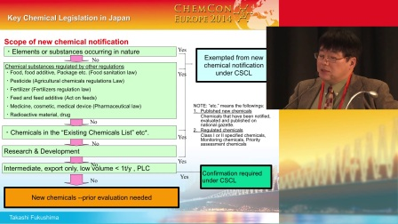 Japan - chemical control legislation