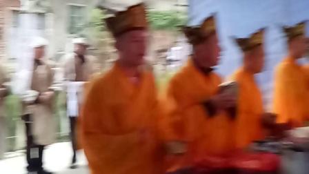 安溪湖头仙景李登贤村隆美厝修谱做功德