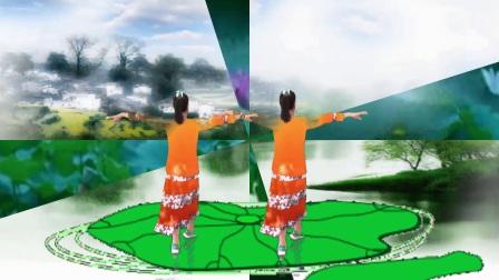 木兰广场舞《水乡新娘》32步、原创编舞:武阿哥