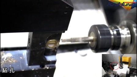 4工位4轴NC转盘复合加工机