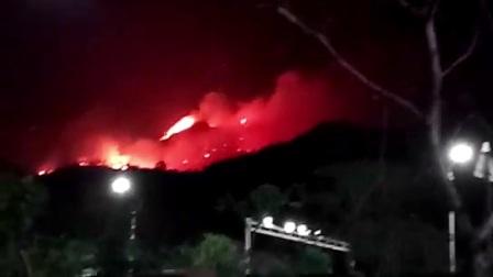 珠海凤凰山大火