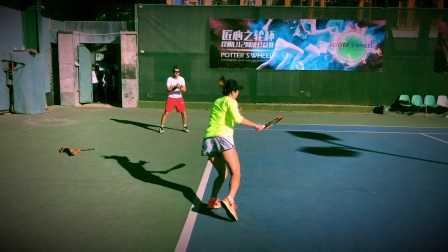 Workout on court - Tennis Physical Training
