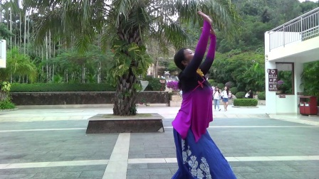 蒙古舞《天边》编舞网上老师、演绎舞痴、拍摄老七