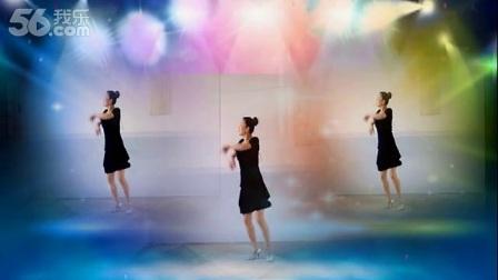 舞之灵广场舞《好听的桑巴》正反演示 动作分解