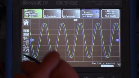 法国CA公司-全新发布OX9000系列手册示波表,高达300MHz。