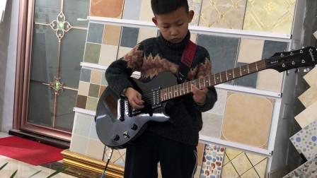学电吉他的第一首曲子《西游记》