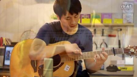 点弦版《卡农》视频+吉他谱_指弹吉他_17吉他网