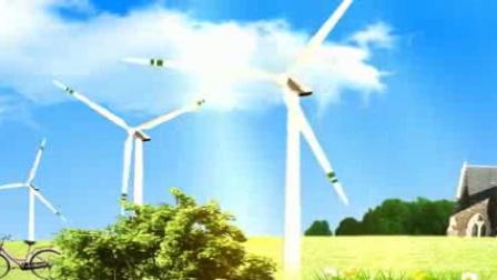 L2531-绿色环保歌曲低碳贝贝儿童卡通地球幼儿园LED大屏晚会高清舞蹈背景视频素材