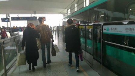 南京地铁s1号线(025026)出翔宇路南站。