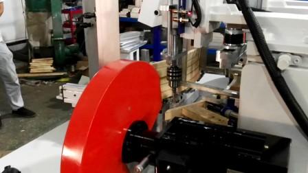 陈展·高圣牌餐桌围边钻孔锯切机 GS-30(家具制造自动化设备)
