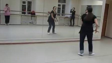 Tranky Doo jazz routine