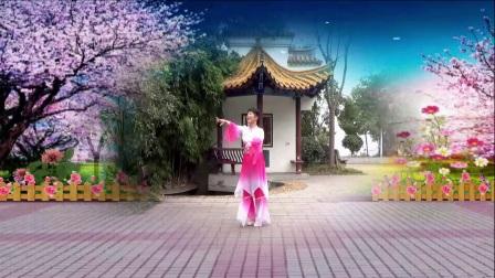 古典舞《樱花》演奏蒋婷、创编周敏、指导周敏、演绎舞痴、摄像老七、制作潭城莲子