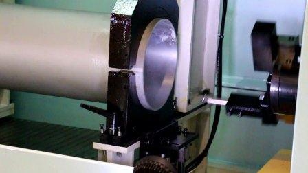 CNC雙軸鋁管雙頭加工機