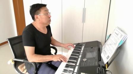 《月亮女神》电子琴演奏者:陈杰