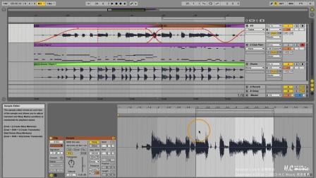 55 Audio Clips 的 Crossfades