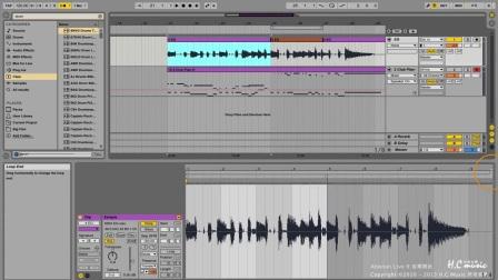 53 了解Arrangement View裡的Audio Clips