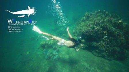 菲律宾杜马盖地的水下摄影