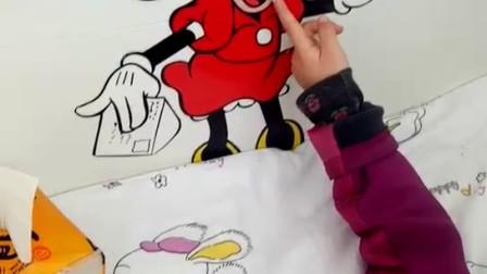 宝贝画米老鼠