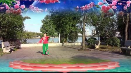 秧歌舞:《小调情歌桃花红》演唱蒙克、编舞饶子龙、演绎舞痴、摄像老七、制作冰花花
