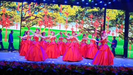 大冶市社会文艺团队汇报演出模特秀《我们的中国梦》