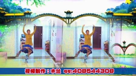 木兰广场舞《最真的梦》原创编舞:雨夜